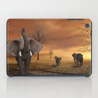 elephants iPad Cases featuring Elephants by Susann Mielke