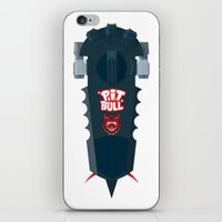 pitbull iPhone & iPod Skins featuring Pitbull Hoverboard by Staermose