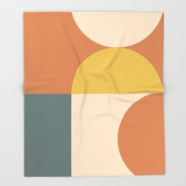 Abstract Geometric 04 Throw Blanket