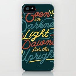Light Dawns iPhone Case