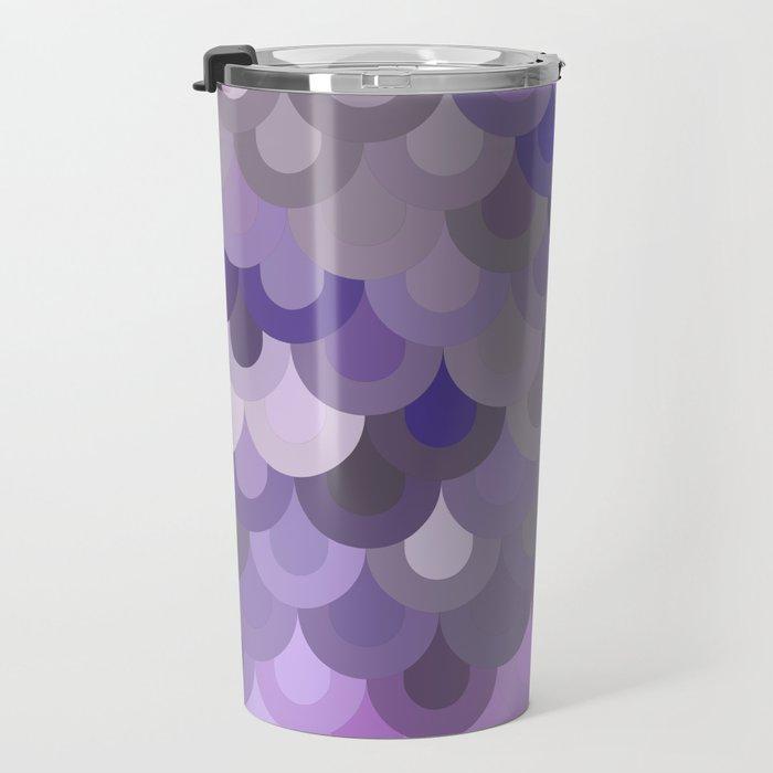 Purple Scales Travel Mug