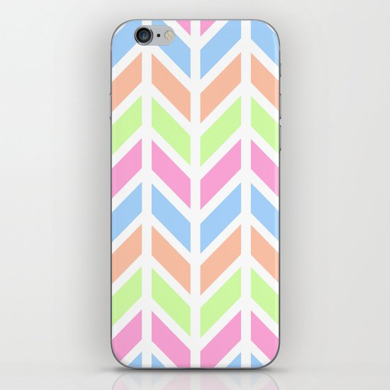 SPRING CHEVRON 3 iPhone & iPod Skin