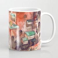 spirited away Mugs featuring Spirited Away by Foya