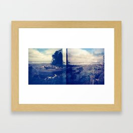 Kalaloch Beach Framed Art Print