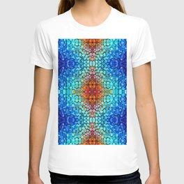 Inner Vision - Colorful Spiritual Abstract Art By Sharon Cummings T-shirt