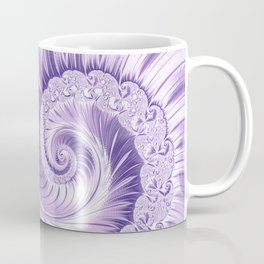 Ultra Violet Luxe Spiral Pattern | Trendy Color of the Year 2018 Coffee Mug