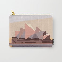 Geometric Opera House, Sydney Carry-All Pouch