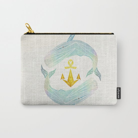 white whale Carry-All Pouch