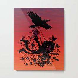 Strange Trip Through The Sky Metal Print