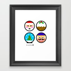 Andy Awesome® Xmas Framed Art Print