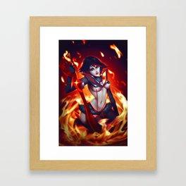 KillLaKill Framed Art Print