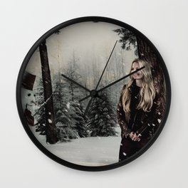 Christmas / Emma Swan Wall Clock