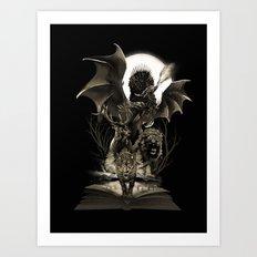 Book of Kingdoms Art Print