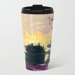 Sassenach Purple and Gold Travel Mug