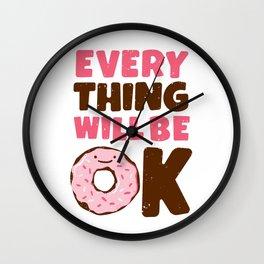 Sweet Relief Wall Clock