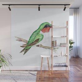 Hummingbird Jewel Wall Mural