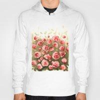 gradient Hoodies featuring Flowery gradient by Ivanushka Tzepesh