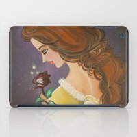 belle iPad Cases featuring Belle by carotoki art and love