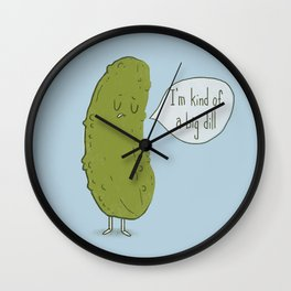 Big Dill Wall Clock