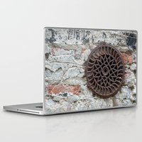 circle Laptop & iPad Skins featuring Circle by Marieken