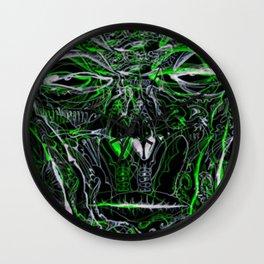 FEELIN' GREEN By: Matthew Crispell Wall Clock