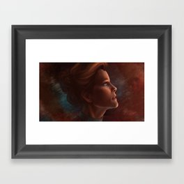 Captain Kathryn Janeway Framed Art Print