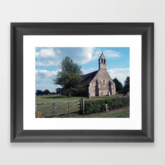 St. Helen, Bilton-in-Ainsty Framed Art Print