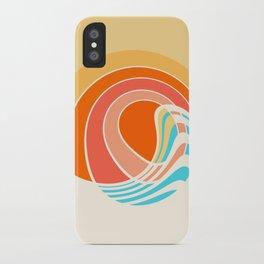 Sun Surf iPhone Case