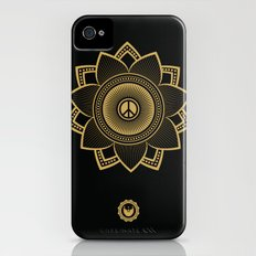 Peace Lotus Slim Case iPhone (4, 4s)