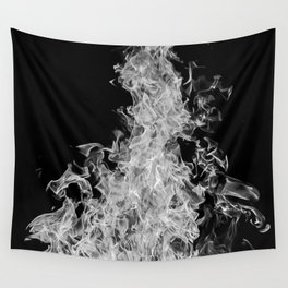 B&W Blaze Wall Tapestry