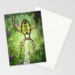 Banana Spider & Berries Stationery Cards