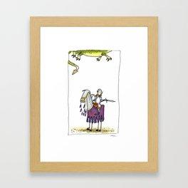 Dragons? Framed Art Print