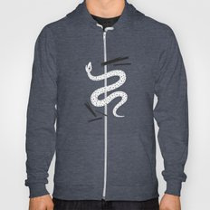 a dotted snake. Hoody