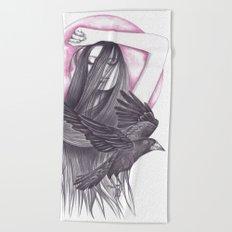 Crow Dance Beach Towel