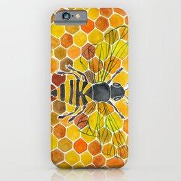 Bee & Honeycomb iPhone Case