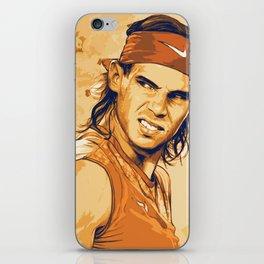 rf, roger federer, roger, federer, tennis, wimbledon, grass, tournament, ball, legend,  Illustration iPhone Skin