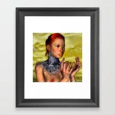 Aquarelle Chronicles III Framed Art Print