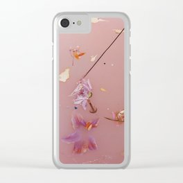 Harry Styles Album Artwork Floral 2 Clear iPhone Case