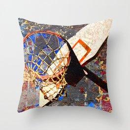 Basketball vs 65 Throw Pillow