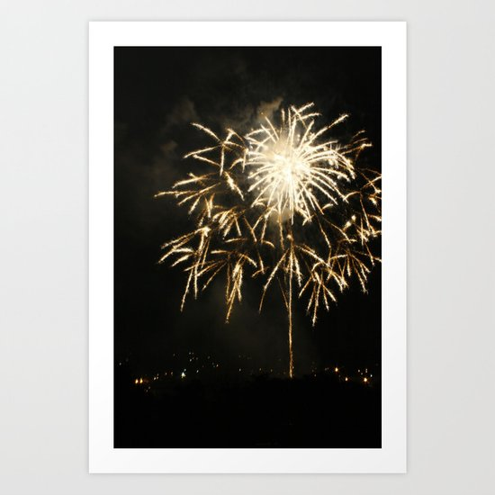 2012 Fourth Of July Fireworks Display #2 - Fireworks Capital Of America Art Print