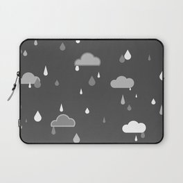 Grey Rains Laptop Sleeve