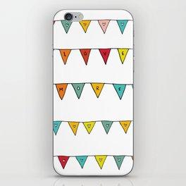 Love More iPhone Skin