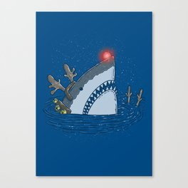 Rudolph Shark Canvas Print