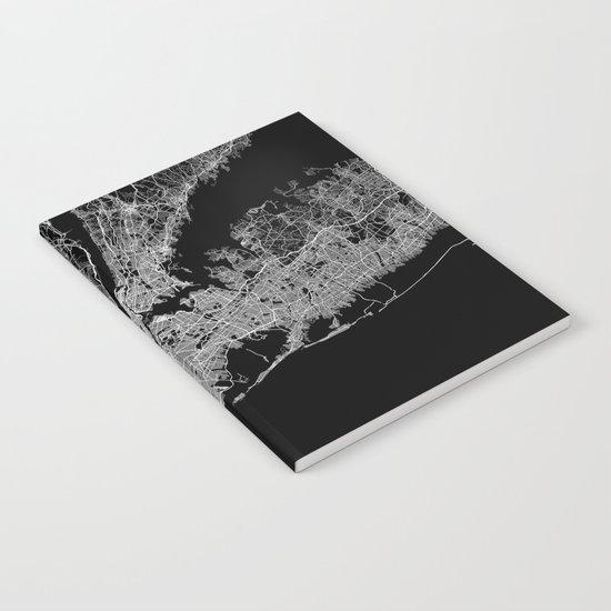 New York map Notebook