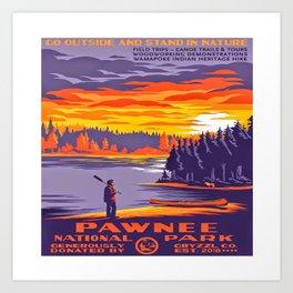 Pawnee National Park Art Print