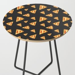 Cool and fun pizza slices pattern Side Table