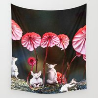 naked Wall Tapestries featuring naked by madild
