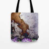 gnome Tote Bags featuring gnome by pixelplasma