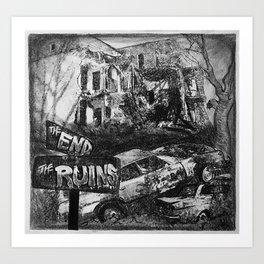 The Ruins Art Print