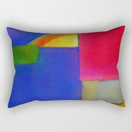 Abstract Composition 100 Rectangular Pillow